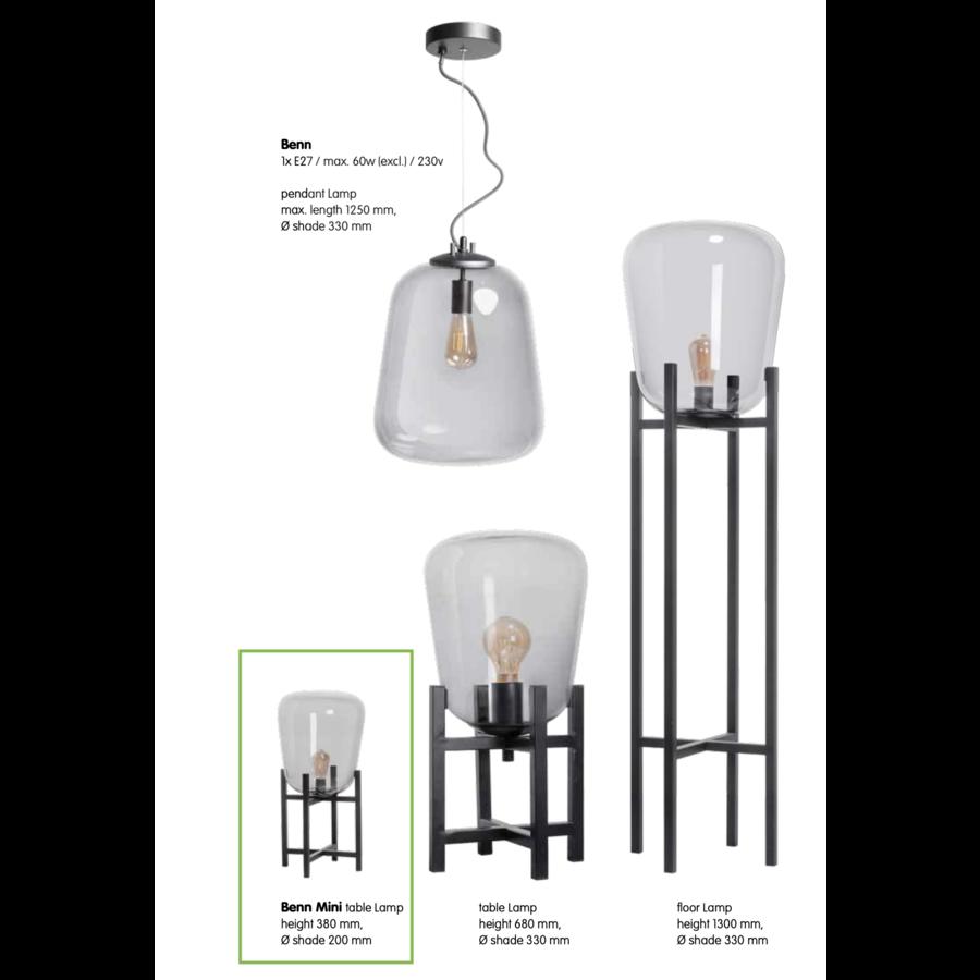 Tafellamp Benn Mini h38 x ø20 cm-6