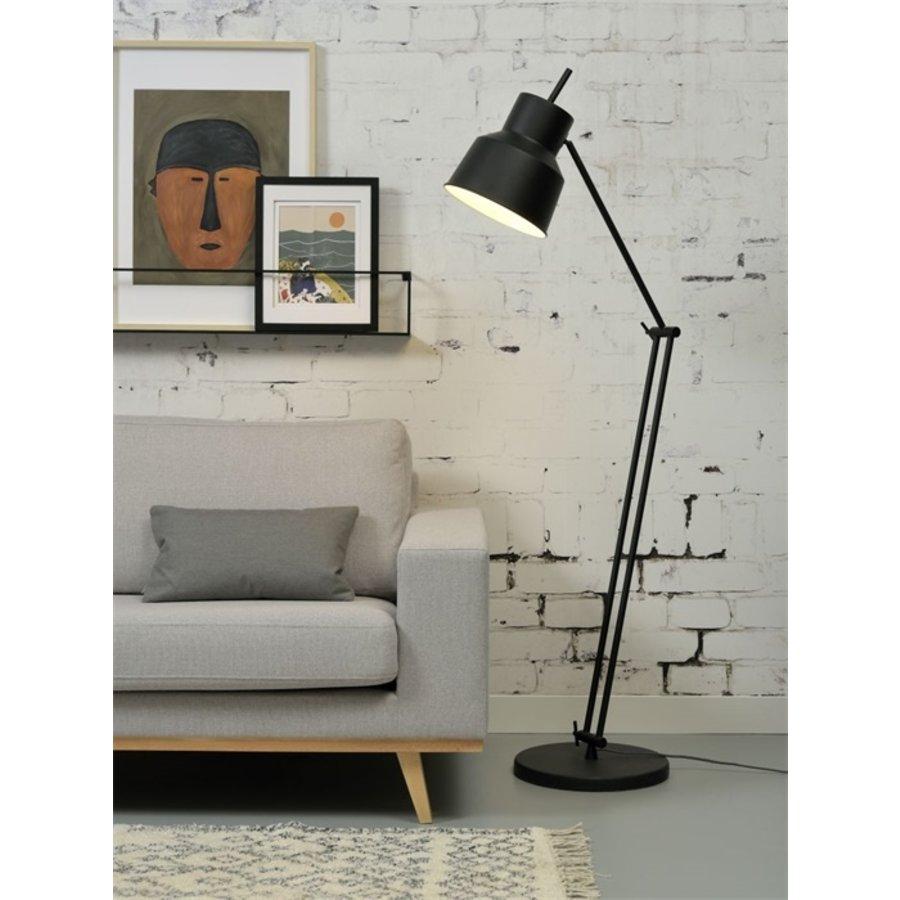 Vloerlamp Belfast zwart-3