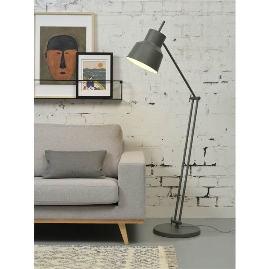 Vloerlamp Belfast grijs-2