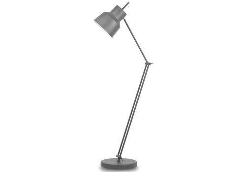 Vloerlamp Belfast grijs