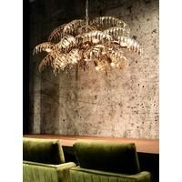thumb-Hanglamp Bellagio ovaal in ambachtelijk zilver-5
