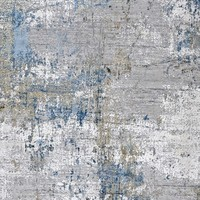 thumb-Tapijt Olympia Erased Blauw in diverse maten-4