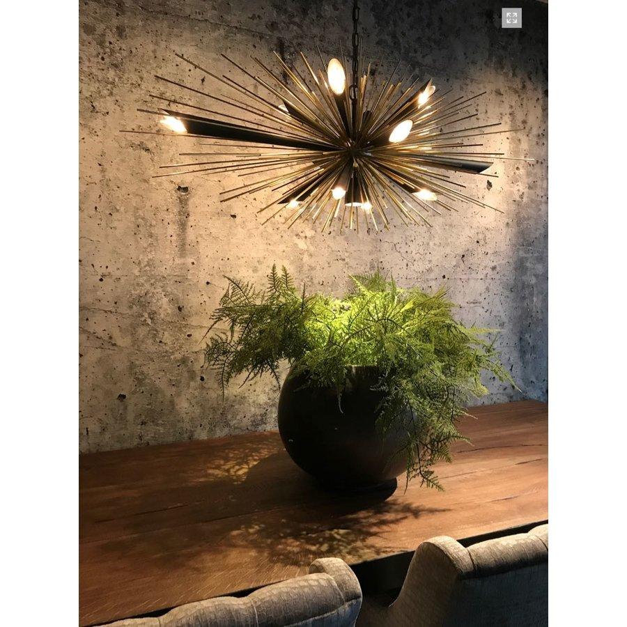 Hanglamp Springfield zwart/goud-6