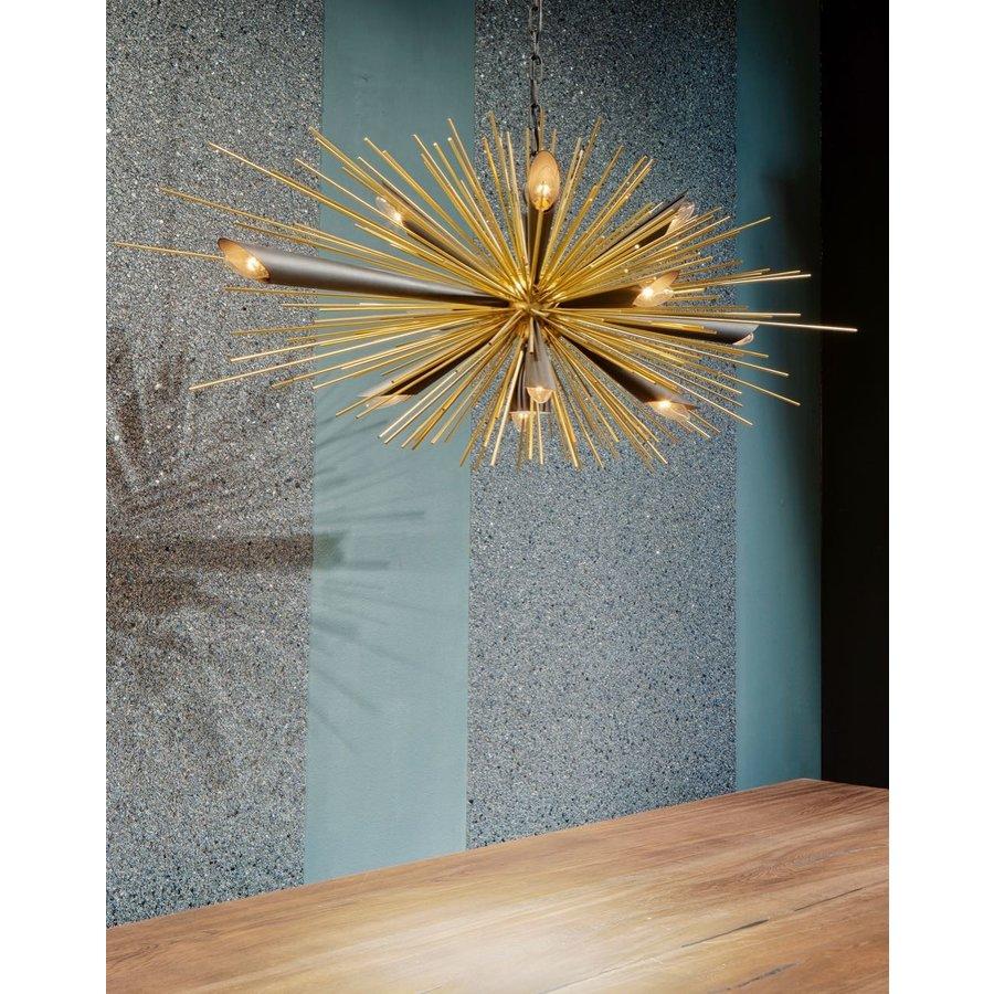 Hanglamp Springfield zwart/goud-2