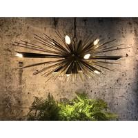 thumb-Hanglamp Springfield zwart/goud-4