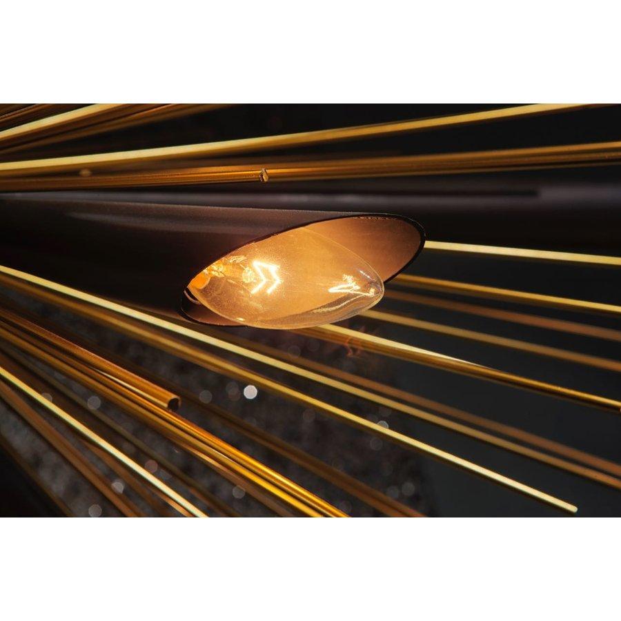 Hanglamp Springfield zwart/goud-3