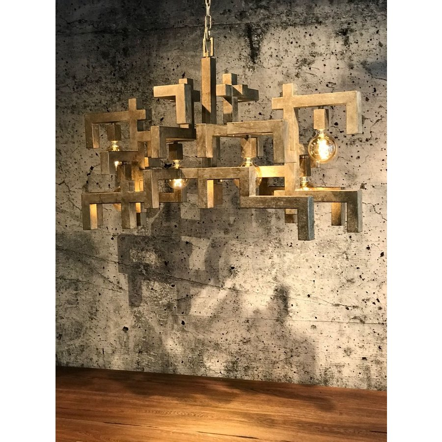 Hanglamp Magnus zwart of zilver-2