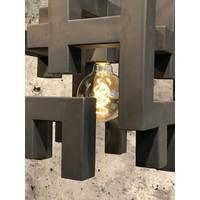 thumb-Hanglamp Magnus vierkant zwart of zilver-3