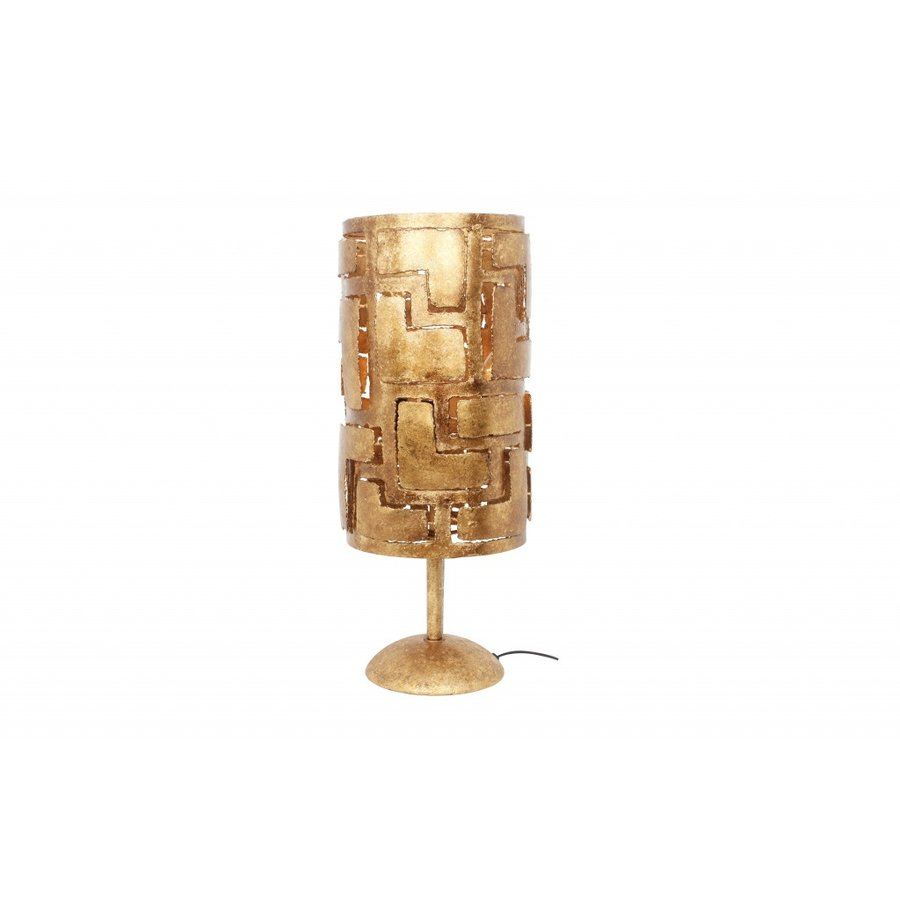 Tafellamp Pablo in brons of zilver-2