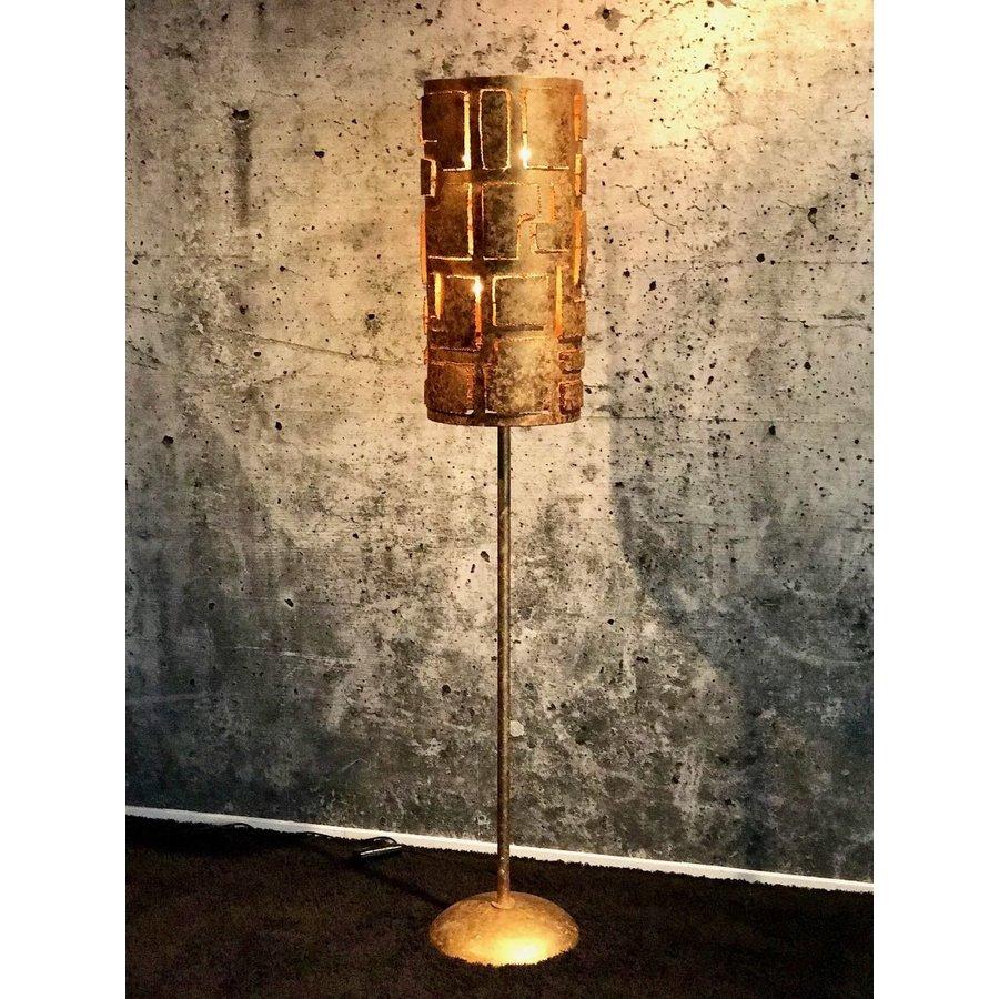Vloerlamp Pablo brons of zilver-3