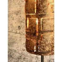 thumb-Vloerlamp Pablo brons of zilver-5
