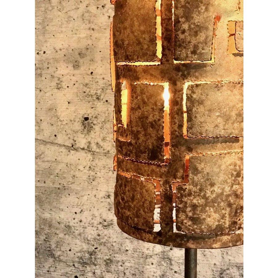 Vloerlamp Pablo brons of zilver-5