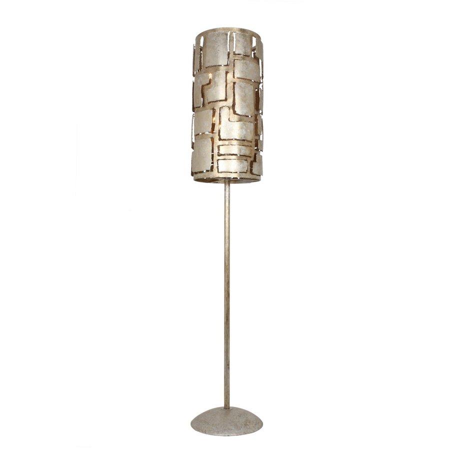 Vloerlamp Pablo brons of zilver-2