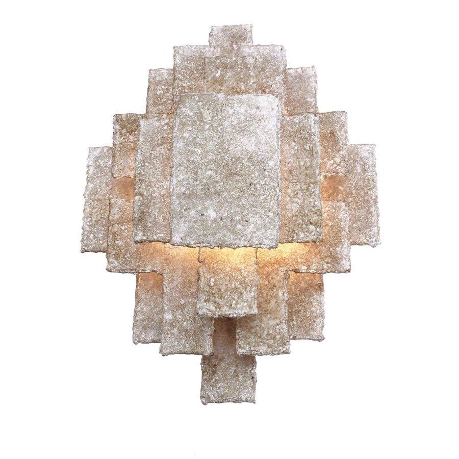 Wandlamp Beluga in brons of zilver-1