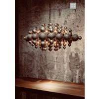 thumb-Hanglamp Blow in twee kleuren metaal-2