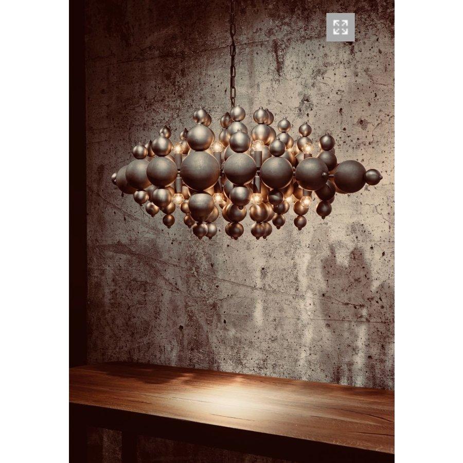 Hanglamp Blow in twee kleuren metaal-2