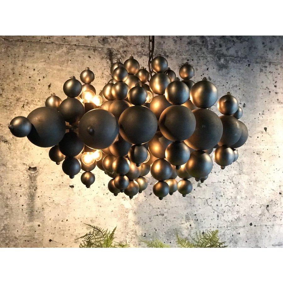 Hanglamp Blow in twee kleuren metaal-1
