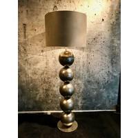 thumb-Vloerlamp Boss met vijf bollen metaal-1