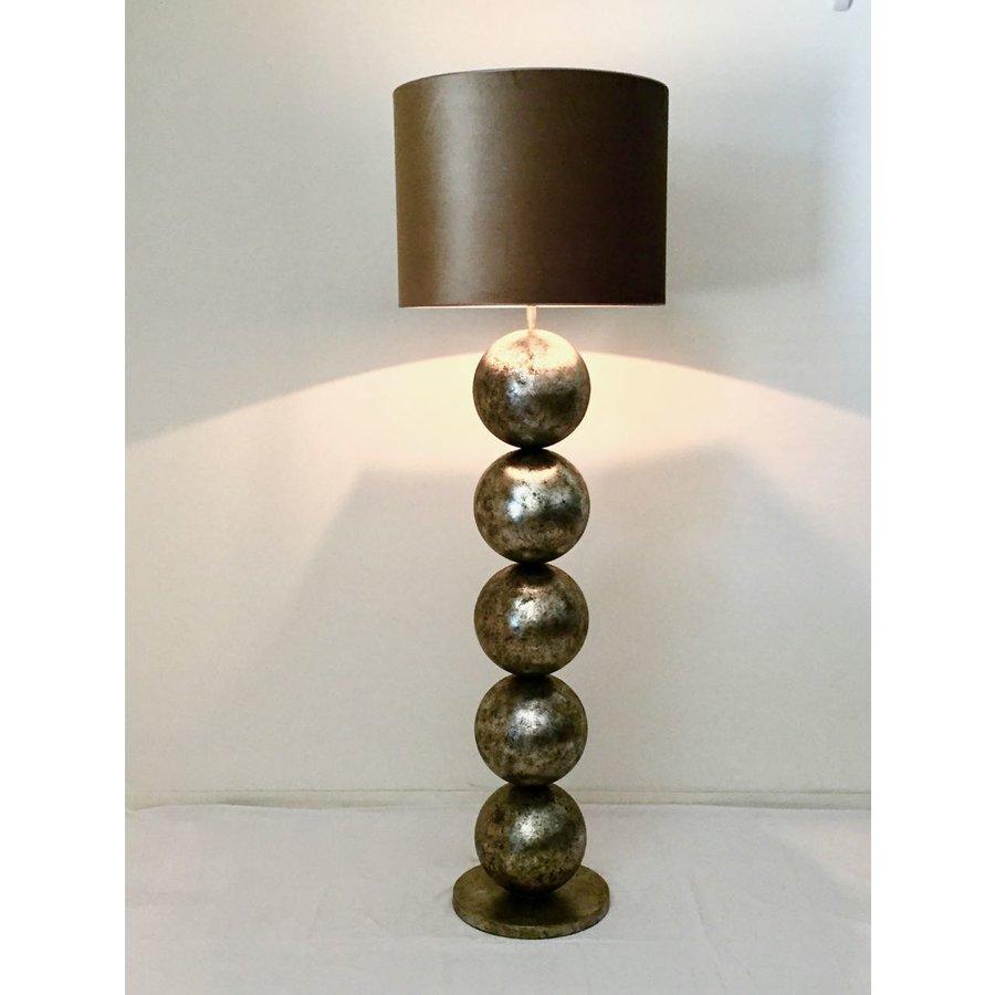 Vloerlamp Boss met vijf bollen metaal-3