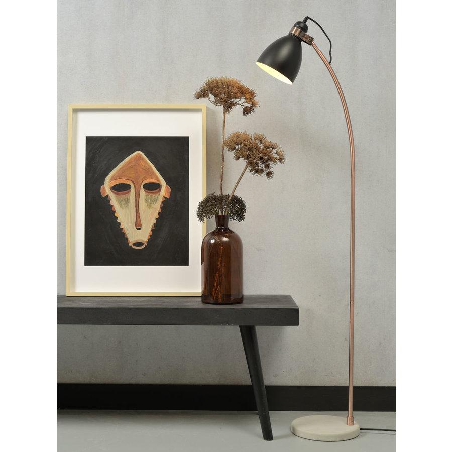 Vloerlamp Denver in zwart of lichtgrijs-3