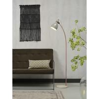 thumb-Vloerlamp Denver in zwart of lichtgrijs-4
