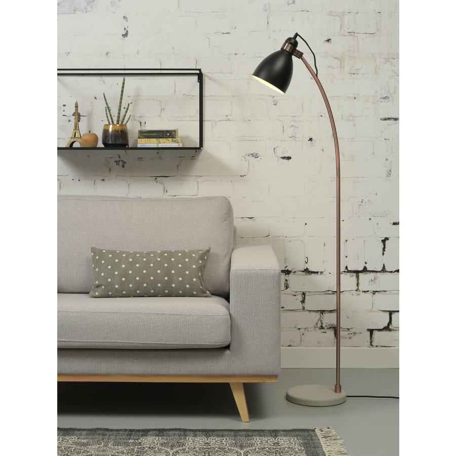 Vloerlamp Denver in zwart of lichtgrijs-7