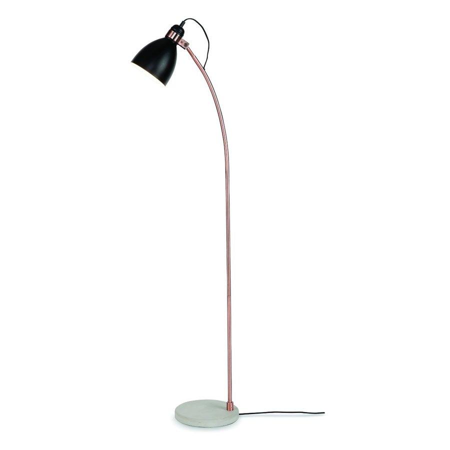 Vloerlamp Denver in zwart of lichtgrijs-2