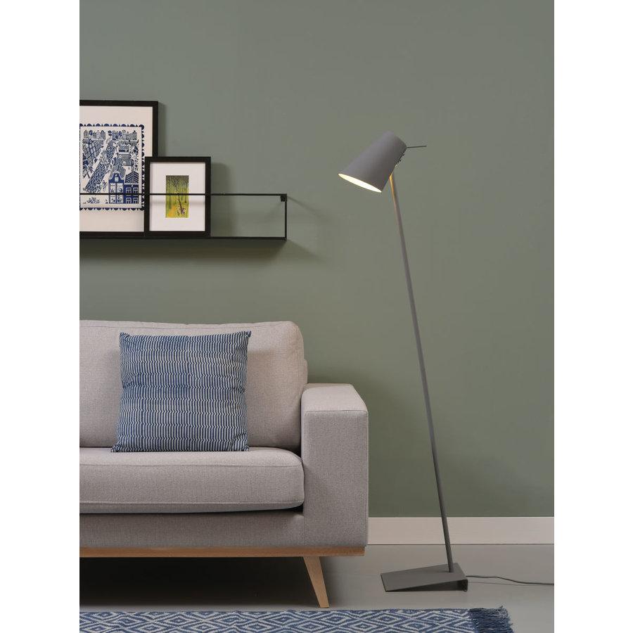 Vloerlamp Cardiff in zwart, wit of grijs-4