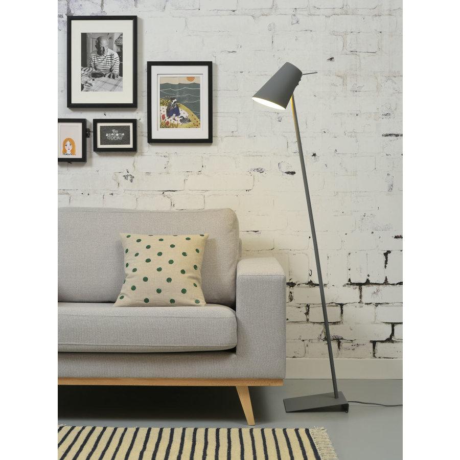 Vloerlamp Cardiff in zwart, wit of grijs-5