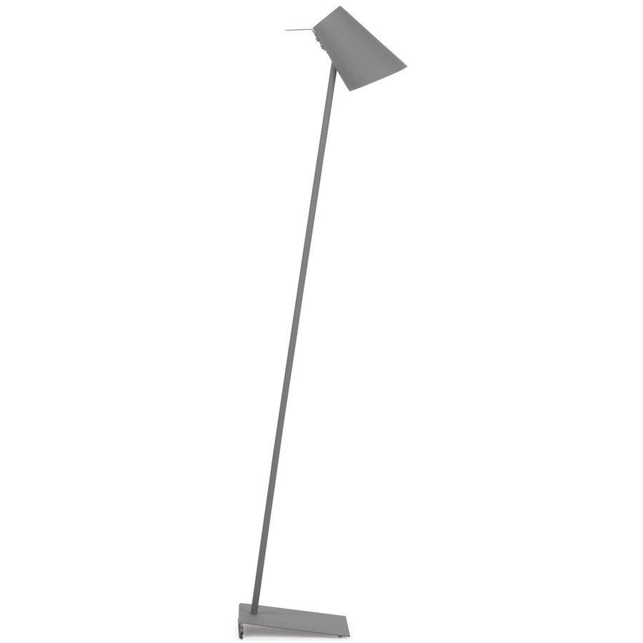 Vloerlamp Cardiff in zwart, wit of grijs-3