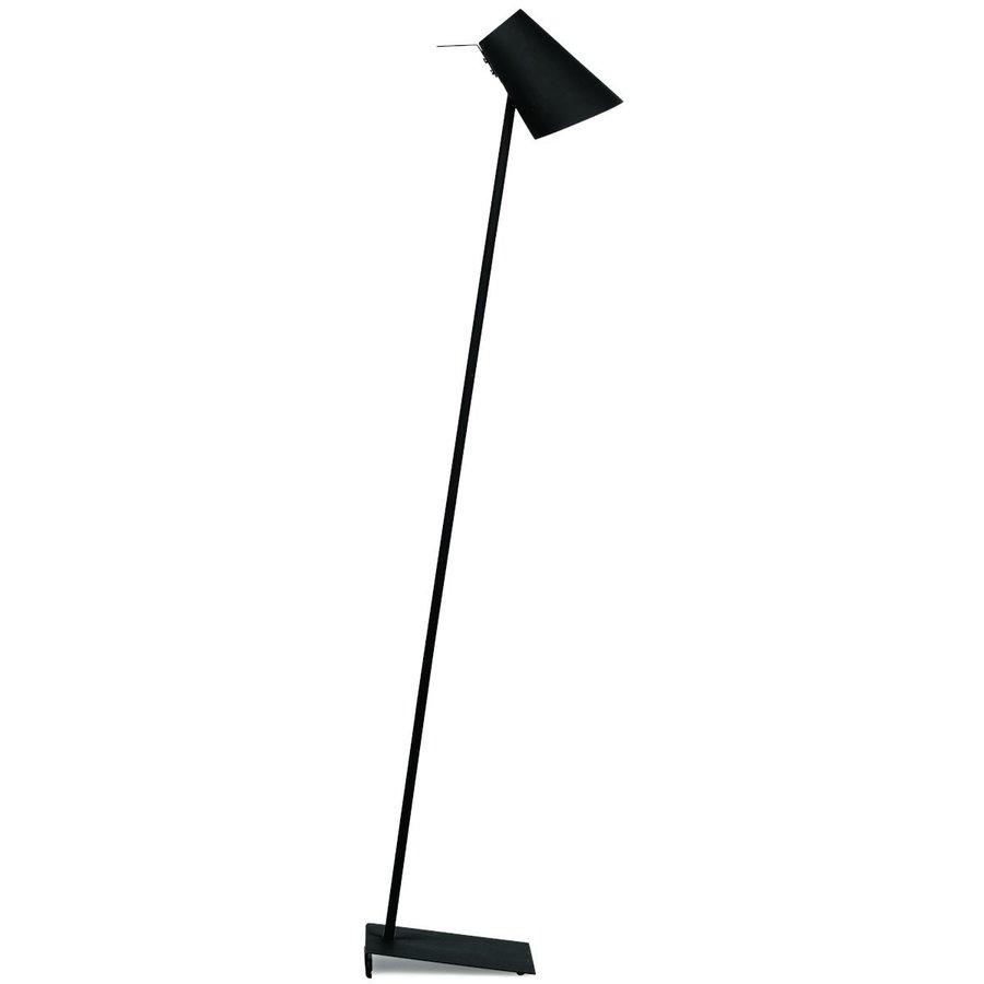 Vloerlamp Cardiff in zwart, wit of grijs-1