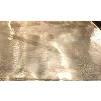 thumb-Metalen Wandtafel Calloway champagne gold-8