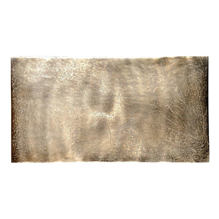 Metalen Sofa-tafel Calloway champagne gold | Beschikbaar vanaf eind juni-3