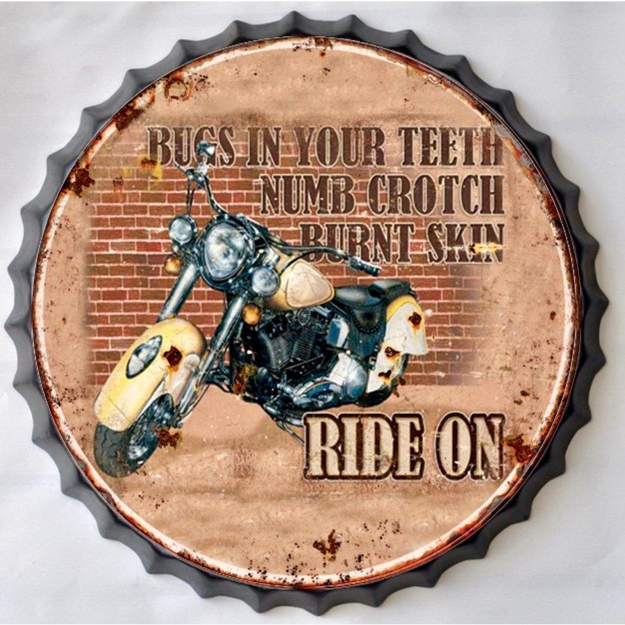 Wanddecoratie kroondop Motor Ride On-1