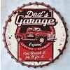Gave Specials Wanddecoratie kroondop Dad's Garage