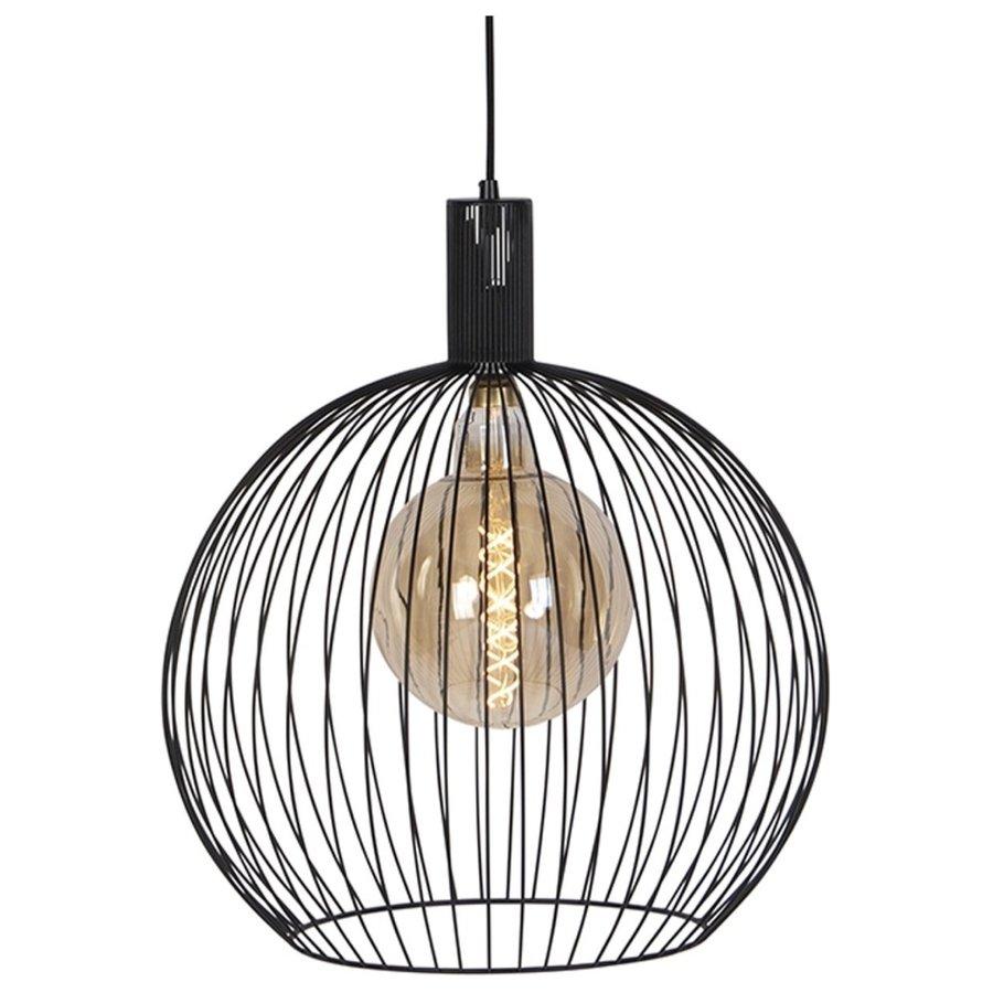 Hanglamp Wire  zwart in 5 maten-1