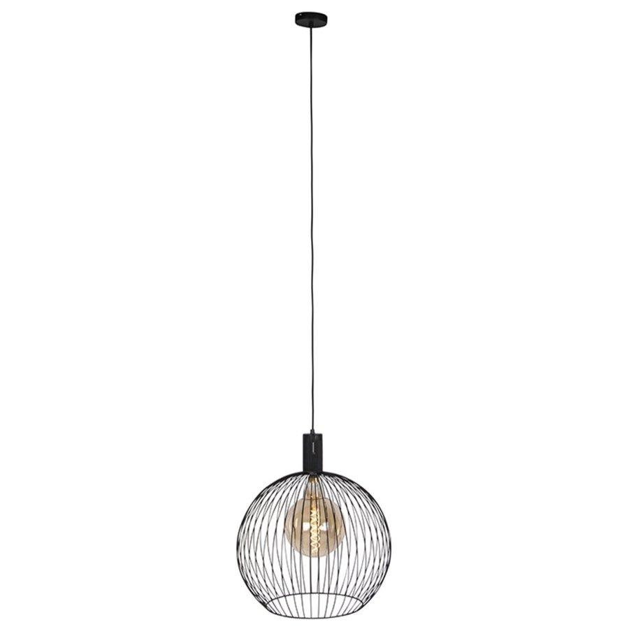 Hanglamp Wire  zwart in 5 maten-5