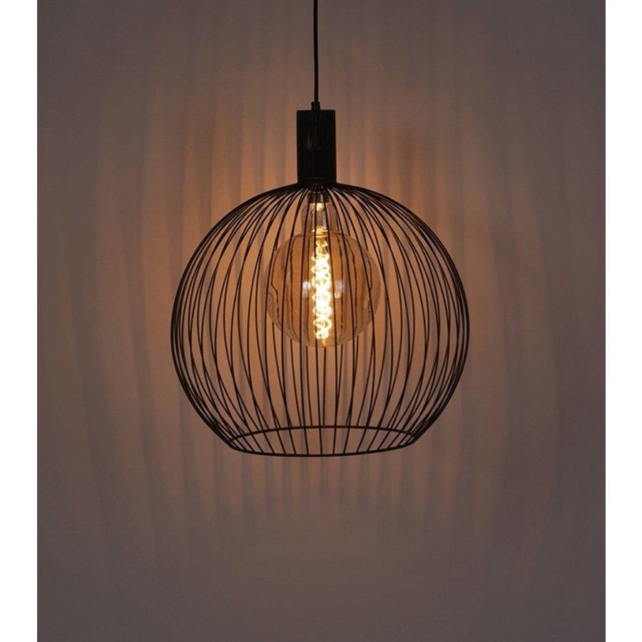 Hanglamp Wire  zwart in 5 maten-3