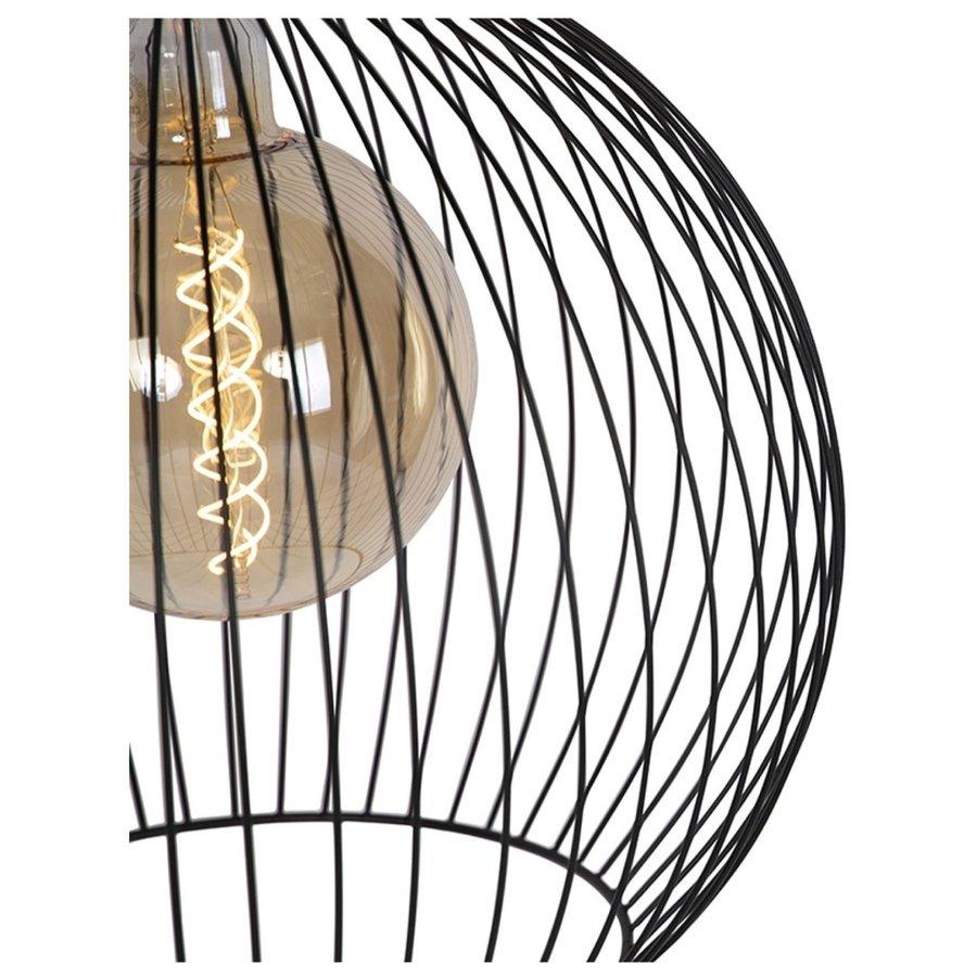 Hanglamp Wire  zwart in 5 maten-4