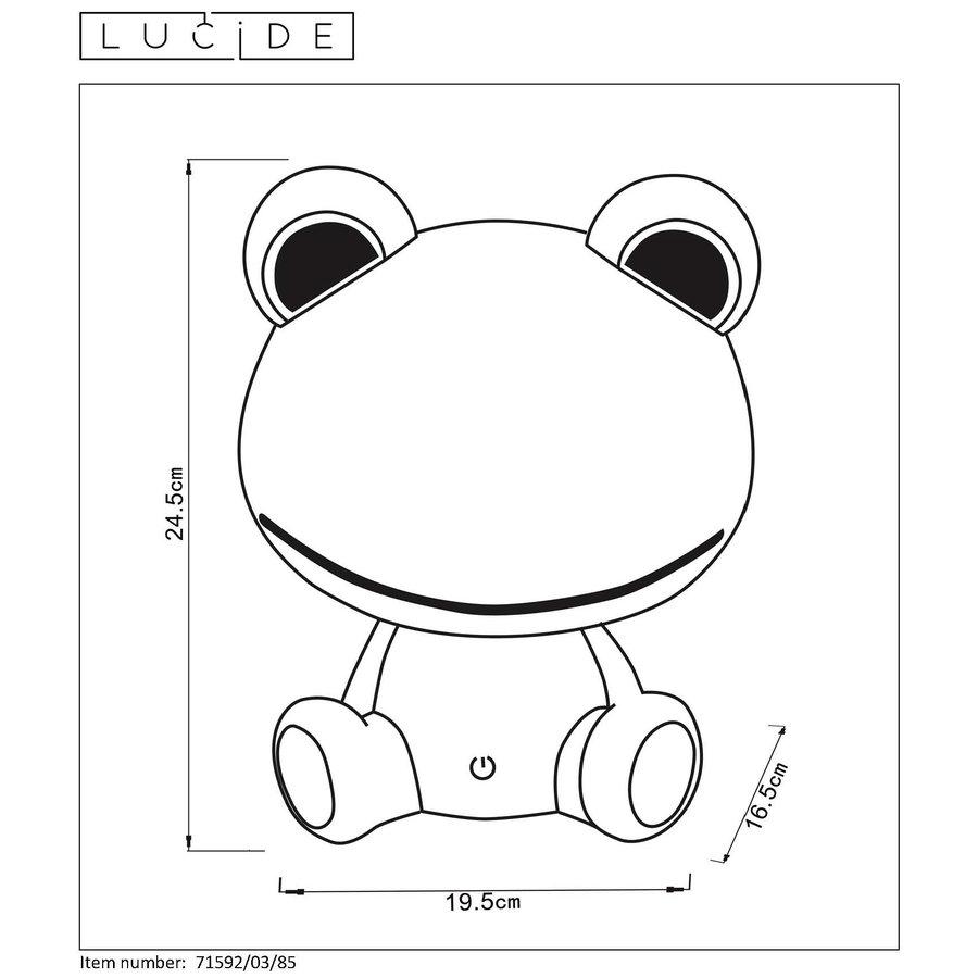 Kinder tafellamp Dodo Frog-3