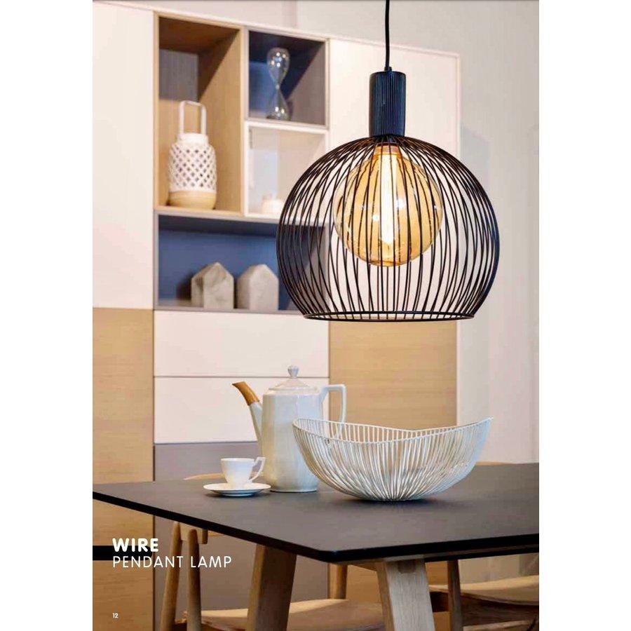 Hanglamp Wire  zwart in 5 maten-2