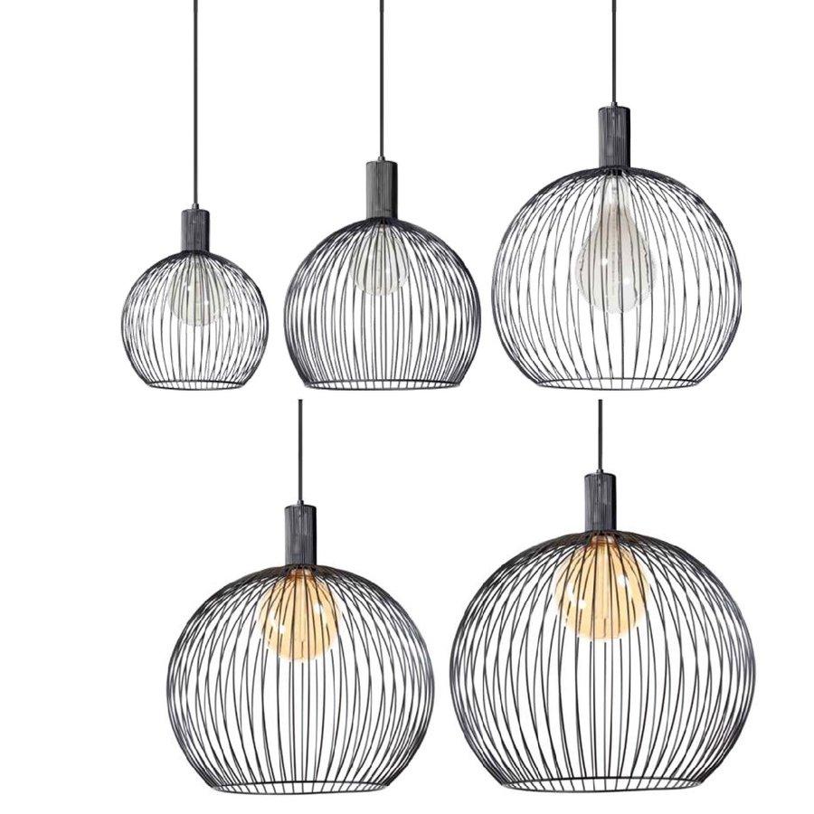 Hanglamp Wire  zwart in 5 maten-8