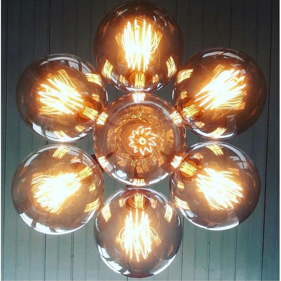 No.3 Hanglamp bundel 7-lichts koper of goud-4