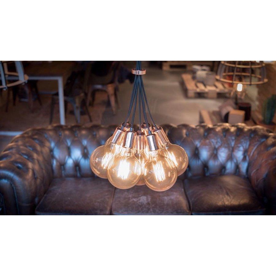 No.3 Hanglamp bundel 7-lichts koper of goud-5