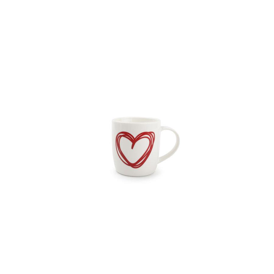 Set van 2 mokken Red Hearts-4
