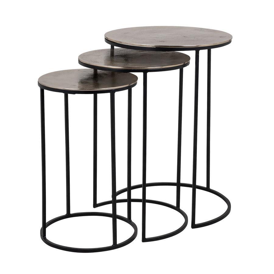 Set van drie salontafels NOLAN-1