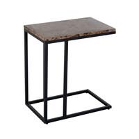 thumb-Sofa tafel Orion met bruin marmer-1