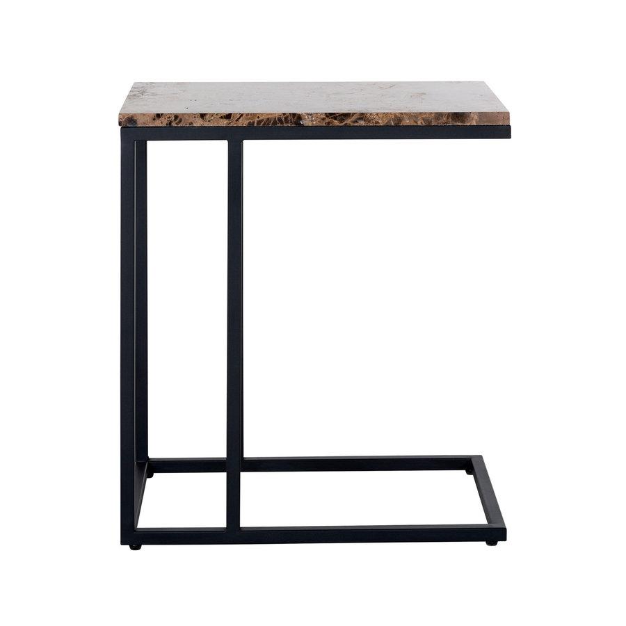 Sofa tafel Orion met bruin marmer-3