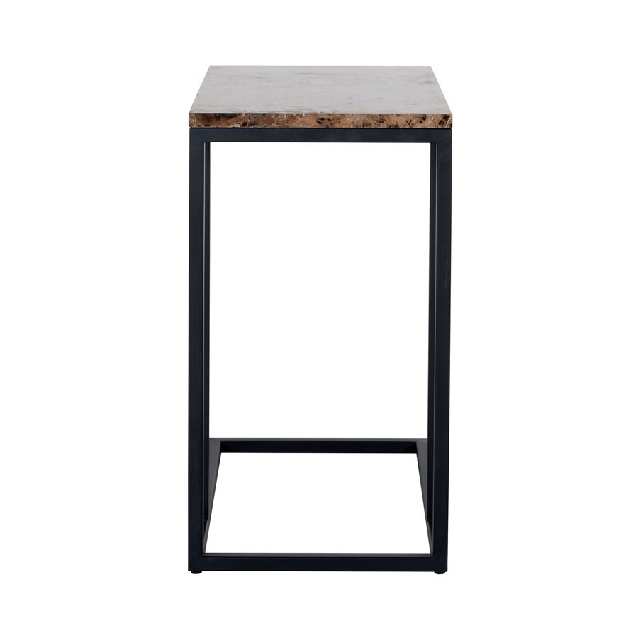 Sofa tafel Orion met bruin marmer-4