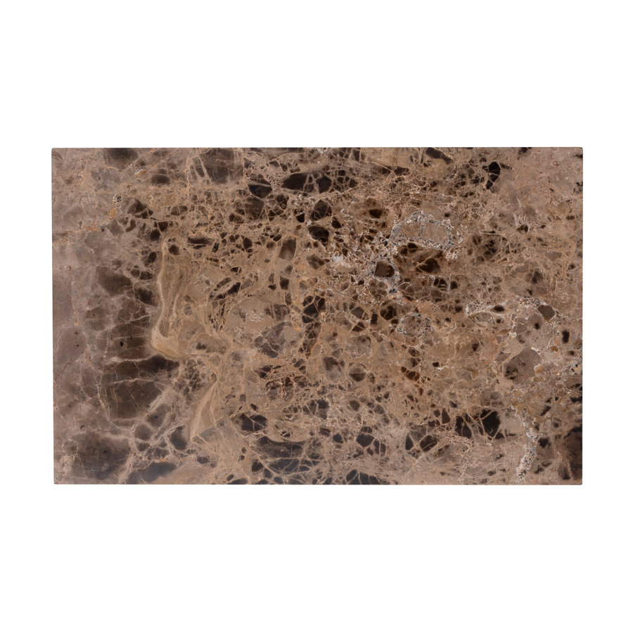 Sofa tafel Orion met bruin marmer-5